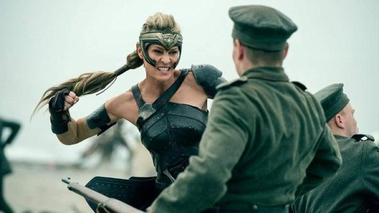"Robin Wright en ""La Mujer Maravilla"""