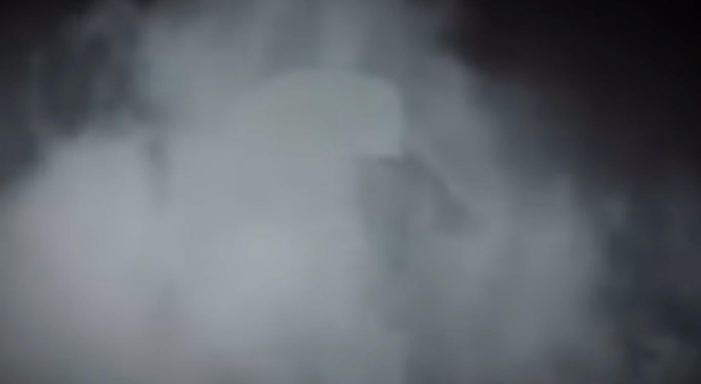 En medio de la bruma, Don Ramón, en su última escena antes de su muerte.