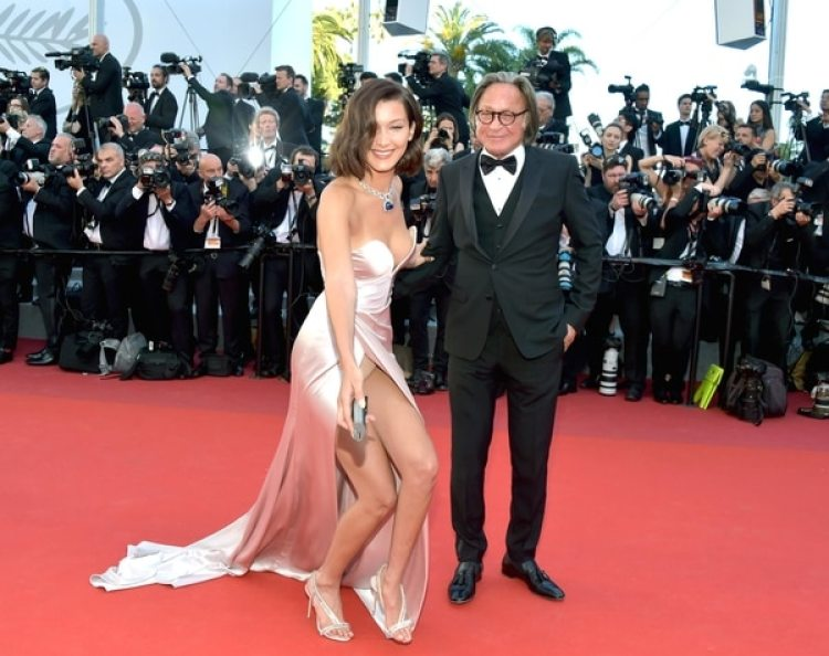 Bella y Mohamed Hadid (Getty Images)