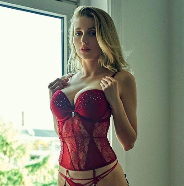 Justyna Monde busca abrirse paso en la industria del modelaje (Instagram)