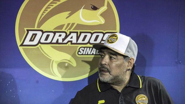 La cifra del donativo hecho por Maradona y Dorados para los damnificados de Sinaloa