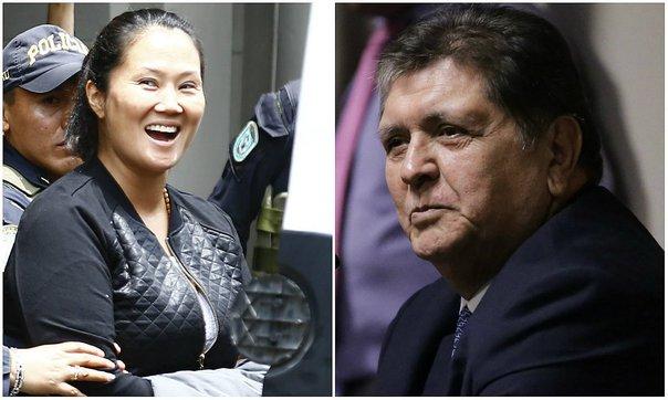 Resultado de imagen para erú: Informe Lava Jato: Congreso rechazó incluir a Alan García y Keiko Fujimori