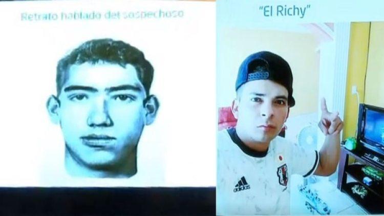 El asesino de Valeria, según el gobierno de Veracruz. (Foto: Conferencia de prensa Yunes)
