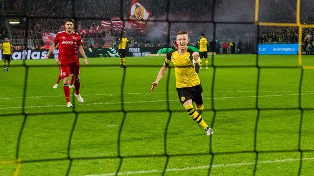 El Dortmund confirma su liderazgo en Alemania tras remontar al Bayern