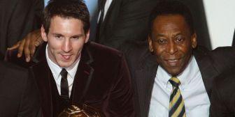 Messi solo tiene adelante a Pelé, ¿lo superará?