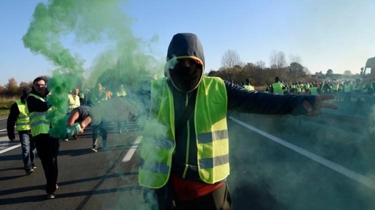 Las protestas tuvieron lugar en distintos puntos del país (AFP)