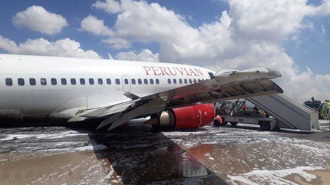 Por incidente en un avión cierran el aeropuerto de El Alto