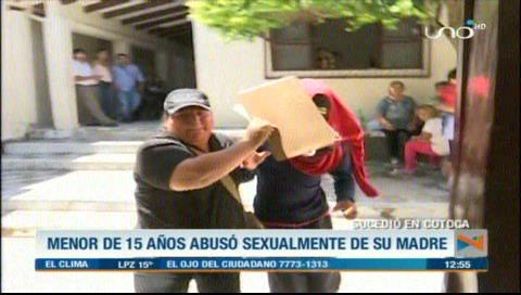 Menor es arrestado por abusar sexualmente de su propia madre