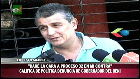 """Suárez minimiza denuncia de Ferrier y lo llama gobernador """"trucho"""" del Beni"""