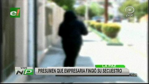 El Alto: Policia investiga un posible auto secuestro de empresaria