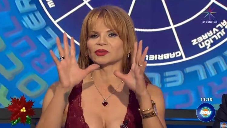 """Mhoni Vidente explicó de dónde surgió el sobrenombre de Luis Miguel: """"El Sol"""" (Foto: captura Televisa)"""