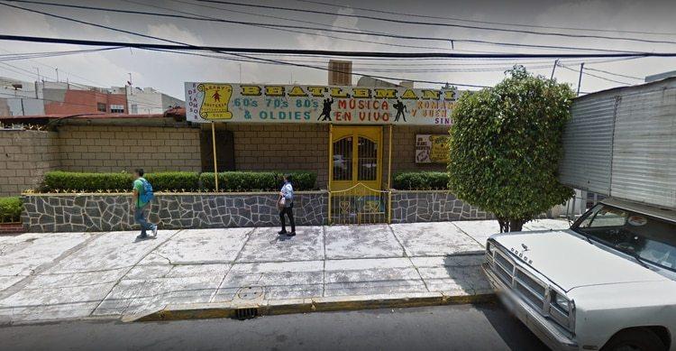 El restaurante donde vivía la cachorra de tigre (Captura de Google)