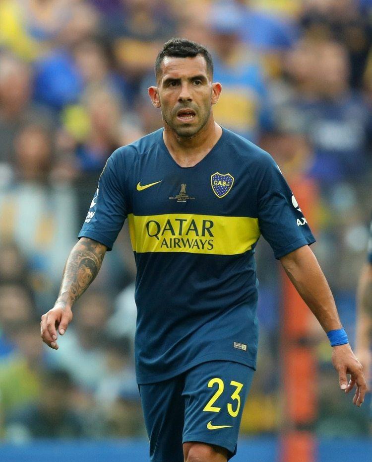 Carlos Tevez está por jugar el partido de vuelta de la Copa Libertadores 2018 contra River Plate (Foto: Reuters)