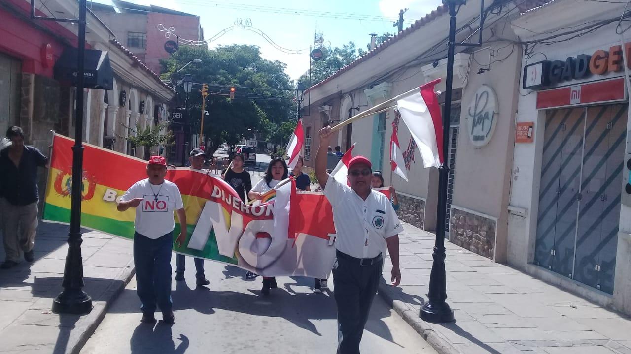 Cívicos de Tarija buscan trabajar con los partidos para impugnar la habilitación de Evo