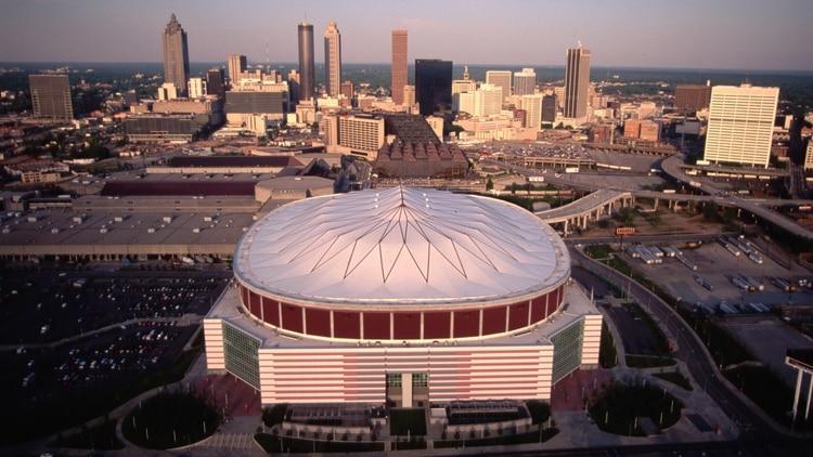 La casa del Atlanta, el estadio de la final (Getty Images)