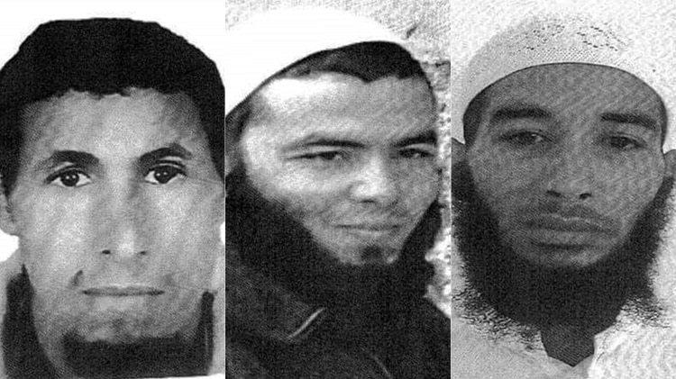 Rachid Affati, Ejjoud Abdessamad y Ouziad Younes, arrestados por la policía en Marrakesh