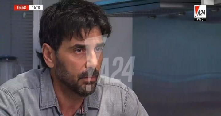 Juan Darthés negó todos los hechos en una entrevista. Luego viajó a Brasil.