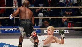 da6d7a8a0 Floyd Mayweather venció por nocaut técnico al kickboxer japonés Tenshin  Nasukawa en el primer round