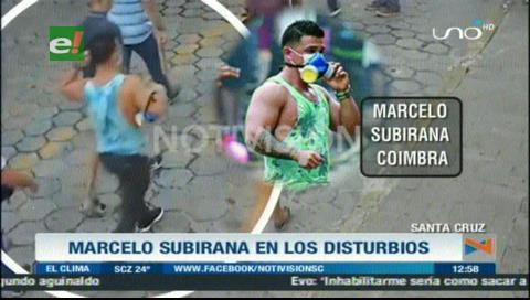 Marcelo Subirana es identificado como incitador de los disturbios en el TSE de Santa Cruz