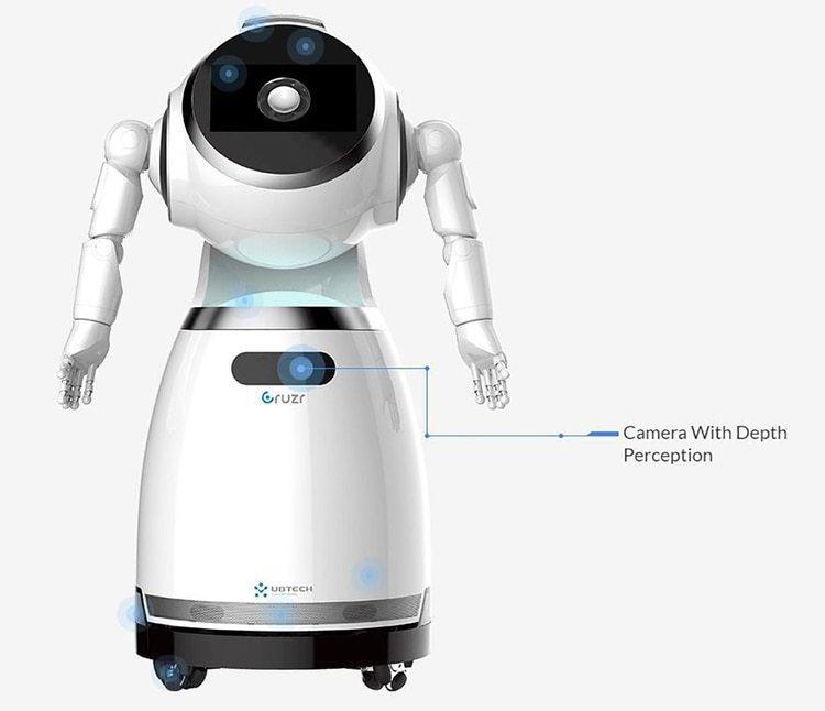 Cruzr, robot chino para servicio al cliente