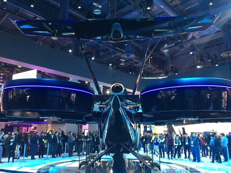 El aerotaxi del futuro de Bell
