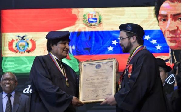 Morales viaja a Venezuela para asistir a posesión de Maduro
