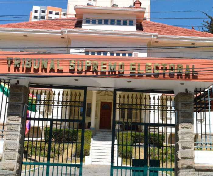 EDIFICIO DEL TRIBUNAL SUPREMO ELECTORAL.