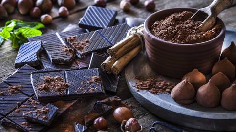 Chocolate y frutos secos (iStock)