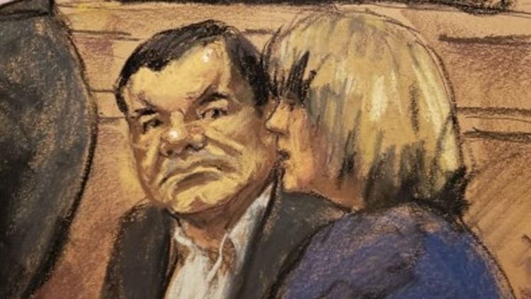 """El juicio contra Joaquín """"El Chapo"""" Guzmán podría terminar en la semana del 21 de enero (Foto: EFE)"""