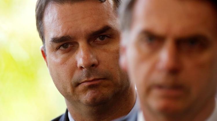 Flavio Bolsonaro, hijo del presidente de Brasil(Reuters/Adriano Machado)