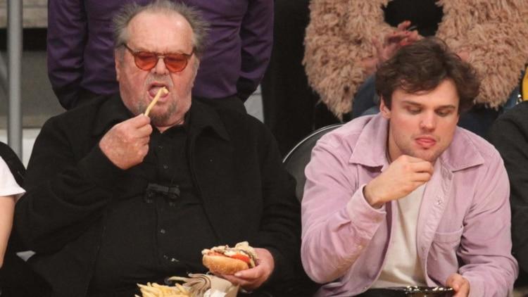 La impactante imagen de Jack Nicholson a sus 81 años