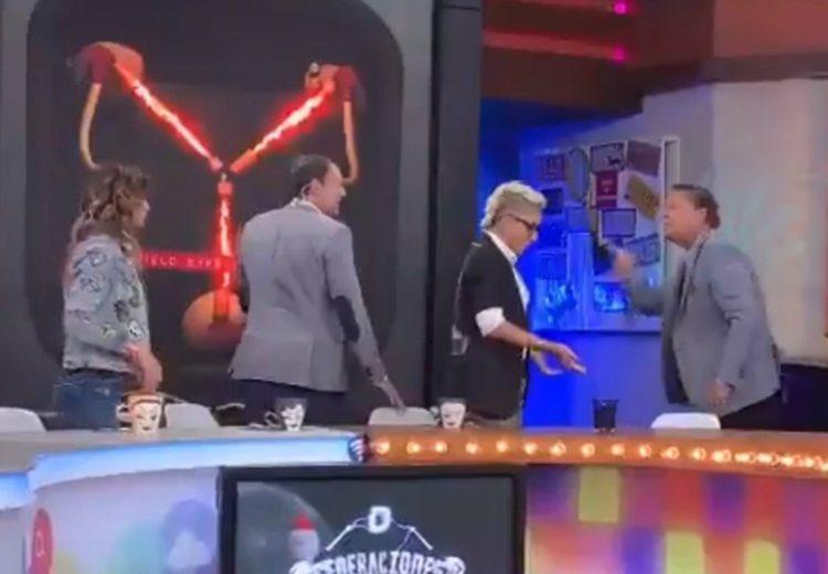 Alfredo Adame se molestó por una pregunta que le hicieron en un programa de tv