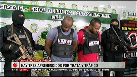 Banda internacional de trata y tráfico secuestró a una mujer para traficar droga