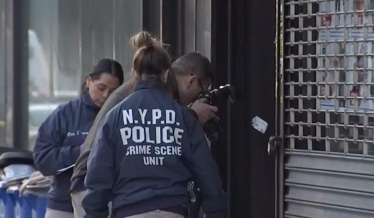 La mujer quedó al pie de las escalares de su casa en Queens, desangrándose,tras el ataque.