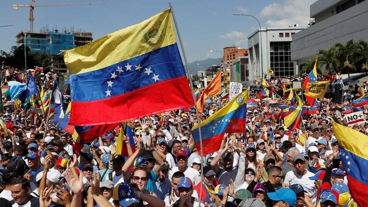 Oposición en Caracas (Reuters)