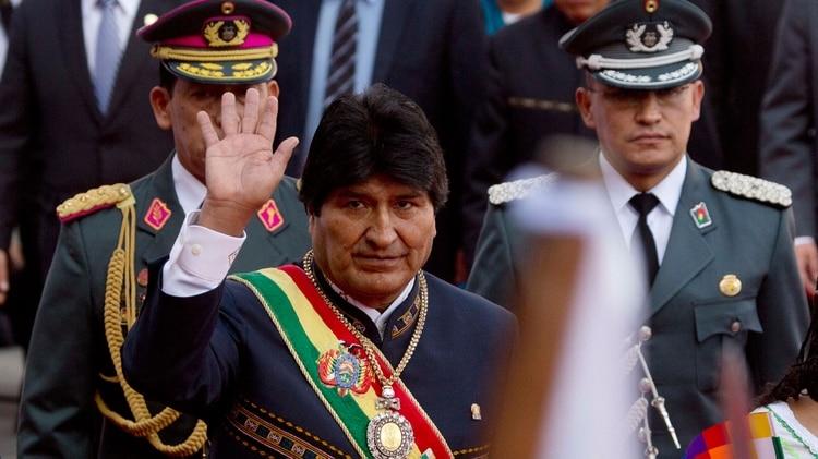 Evo Morales (AP)