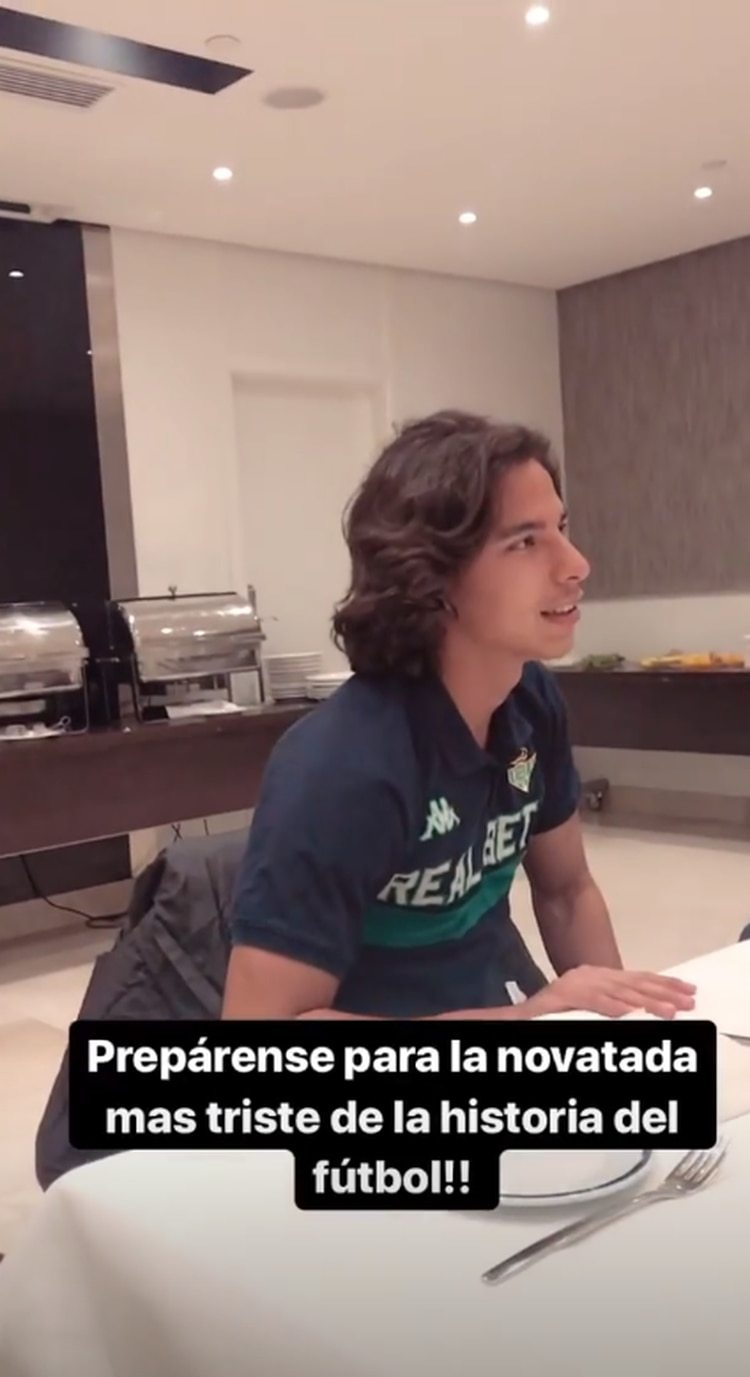 Advertencia de Andrés Guardado (Foto: Captura/ andresgua18)