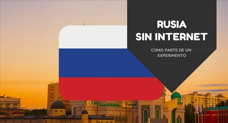 Rusia podría desconectarse de Internet... temporalmente