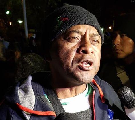 El secretario de industrialización de la Asociación Departamental de Productores de Coca (Adepcoca), José Luis Campos.