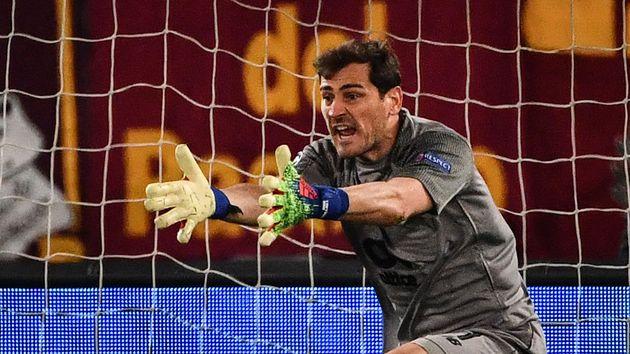 iker casillas portero guardameta porto portugal reacciones declaraciones derrota partido as roma octavos final ida uefa champions league ucl