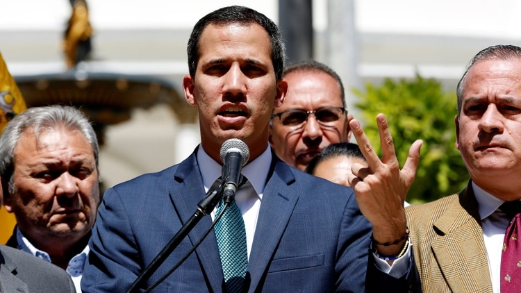 El Grupo de Lima busca darle mayor respaldo a Juan Guaidó (EFE)