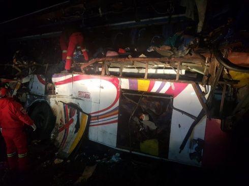 Accidente de tránsito en Bolivia deja 24 muertos