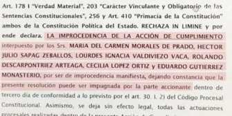 Juez rechaza acción presentada contra la repostulación de Evo tras amenaza de proceso