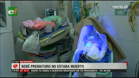 La maternidad niega negligencia médica en el caso del bebé que fue dado por muerto