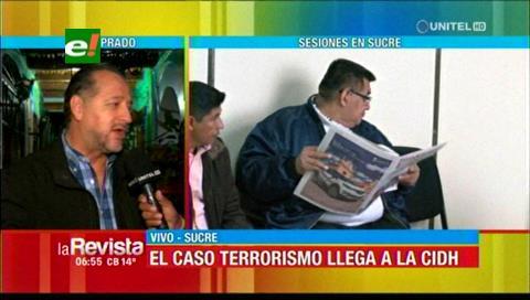 Gary Prado se reunirá con representantes de la CIDH para hablar del caso terrorismo