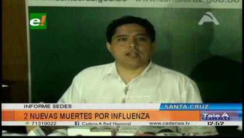 Ascienden a seis los fallecidos por influenza en Santa Cruz