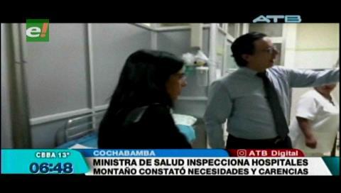 Ministra de Salud y Alcalde de Cochabamba acuerdan fortalecer hospitales de primer y segundo nivel