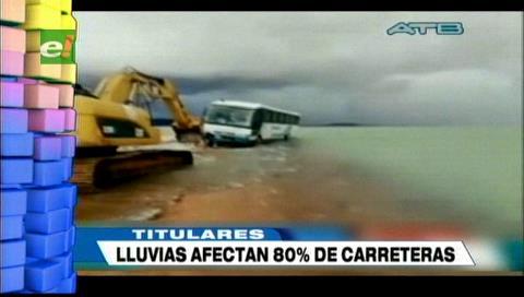 Video titulares de noticias de TV – Bolivia, noche del miércoles 13 de febrero de 2019