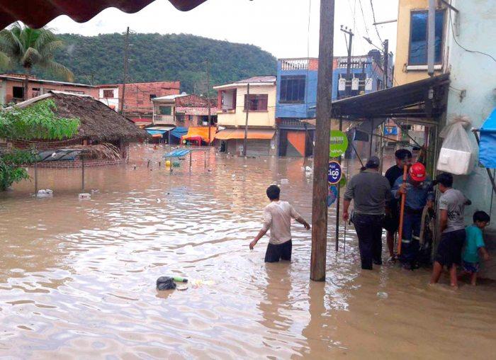 Potosí, La Paz, Chuquisaca son los departamentos más afectados por las lluvias.