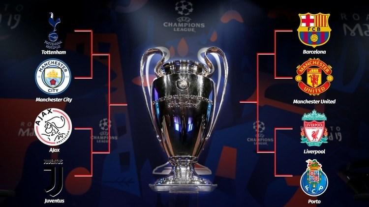 Se sortearon las series de cuartos de final de la Champions League.